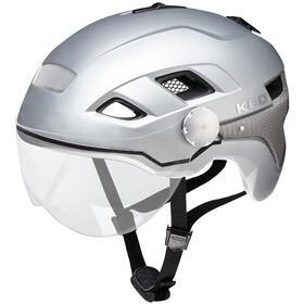 KED B-Vis X-Lite Pyöräilykypärä , hopea